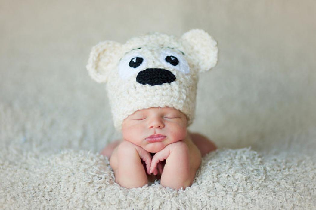 забавные детские шапочки спицами схемы