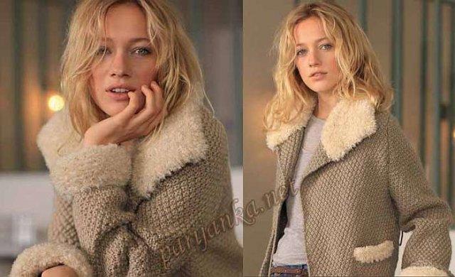 Вязание спицами пальто и куртки