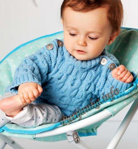 Модное вязание для детей до 3 лет с описанием