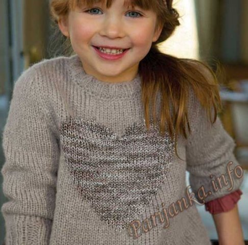 Пуловер (д) 20*95 Phildar №3661