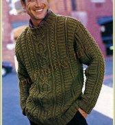 Ирландский пуловер 365* BDF
