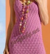 Ажурное мини платье 02*147 BDF