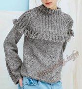 Пуловер (ж) 03655 Phildar №5017