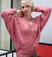 Пуловер (ж) 03 Tricot Creatif Phildar №4570