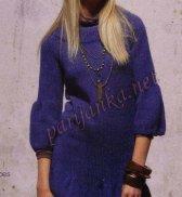 Платье - пуловер  04*555 PHIL