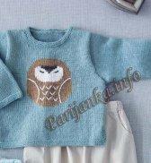 Пуловер (д) 04601 Phildar №4974