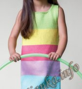 Платье без рукавов (д) 05120 Phildar №4846