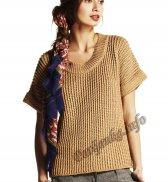 Пуловер с короткими рукавами (ж) 05121 Phildar №4629