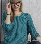 Пуловер (ж) 06*107 Phildar №4089