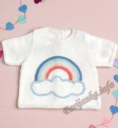Распашонка или пуловер (д) 06130 Phildar №4701