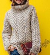 Пуловер (ж) 05652 Phildar №4750