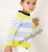 Пуловер (д) 07131 Phildar №4739