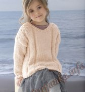 Пуловер (д) 07150 Phildar №5037