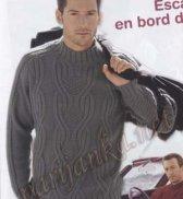 Мужской пуловер 09*2009 BDF