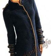 Куртка крючком (ж) 1117 Cheval Blanc №4016