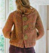 Пуловер с пуговицами на спине 11*456 PHIL