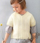 Пуловер-кимоно (д) 13133 Phildar №4775