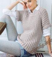 Пуловер (ж) 14135 Phildar №4780