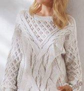 Пуловер (ж) 14153 Phildar №5043