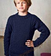 Пуловер с круглым воротником (д) 157 Creations 2015/2016 Bergere de France №4903
