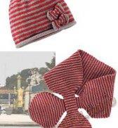 Шапка и шарф (д) 15165 Bergere de France №3479