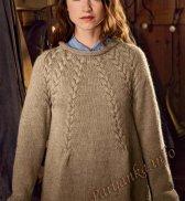 Пуловер (ж) 17177 Bergere de France №4586