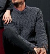 Пуловер (м) 17200 FAM №3830