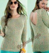 Пуловер (ж) 19118 Phildar №4607