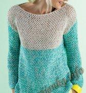 Пуловер (ж) 20118 Phildar №4608