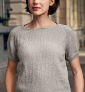 Пуловер с короткими рукавами (ж) 21183 Bergere de France №5005