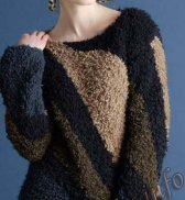 Пуловер (ж) 23*97 Phildar №4036