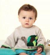 Распашонка или пуловер (д) 24130 Phildar №4748