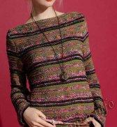 Пуловер (ж) 25*103 Phildar №4009