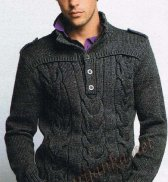 Пуловер 261*CR BDF