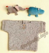 Пуловер (д) 28130 Phildar №5010
