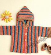 Пальто <strong>одежда для кукол вязание спицами описание</strong> (д) 29130 Phildar №5012