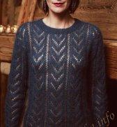 Ажурный пуловер (ж) 331 Creations Bergere de France 2016/2017 №4764