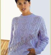 Пуловер (ж) 365 Creation 98/99 Bergere de France №4619