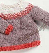 Пуловер (д) 3621 Cheval Blanc №4977