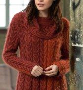 Пуловер с косами (ж) 37225 FAM №4786
