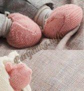 Пинетки и рукавицы (д) 799 Creations 2013/2014 Bergere de France №3691