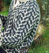 Геометрический пуловер для мужчины №4945