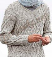 Пуловер V bdf