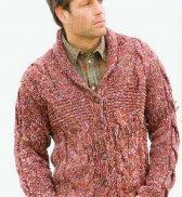 Мужской пуловер №1429