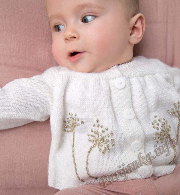 Парижанка ру вязание для малышей 53