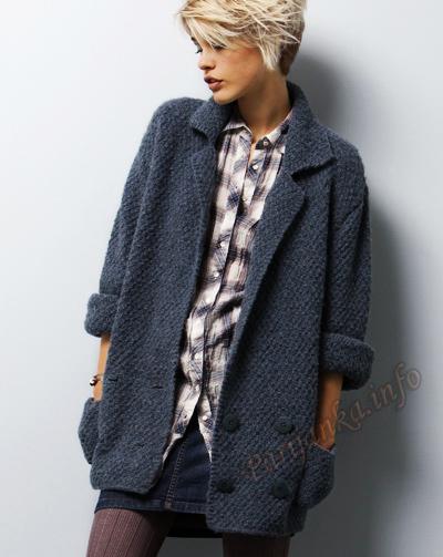 Женская куртка (вязание