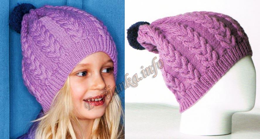 шапки с косами фото